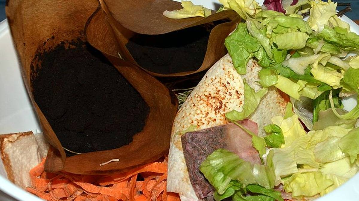 Kompost Küchenabfälle